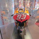Exposición Marc Márquez - Honda MotoGP 2013 frontal