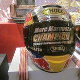 Exposición Marc Márquez - casco campeón 125cc 2010