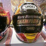 Exposición Marc Márquez - casco campeón Moto2 2012
