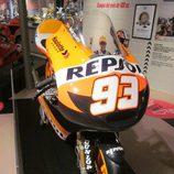 Exposición Marc Márquez -KTM Repsol frontal