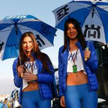 Paddock Girls Aragón 2015 - Husqvarna