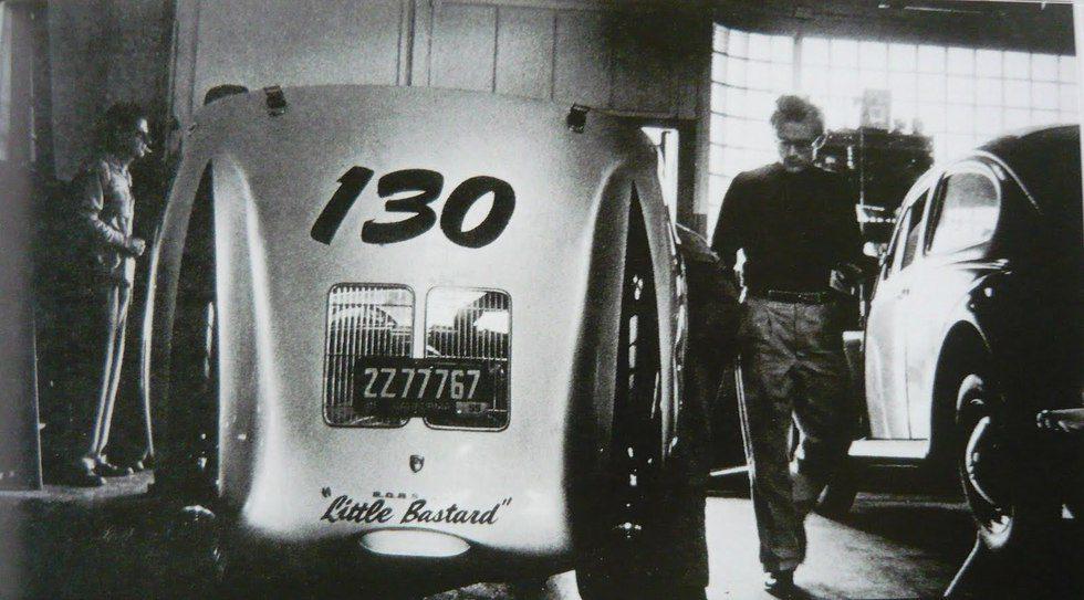 Porsche 550 Spyder Little Bastard - Trasera James Dean 2