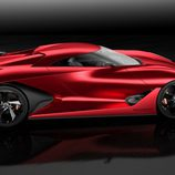 Nissan Vision GT-R Concept Fire Knight - Lateral