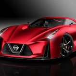 Nissan Vision GT-R Concept Fire Knight - Frontal