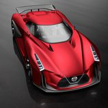 Nissan Vision GT-R Concept Fire Knight - Frontal 2