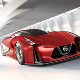 Nissan Vision GT-R Concept Fire Knight - Frontal 3