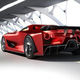 Nissan Vision GT-R Concept Fire Knight - Trasera 3