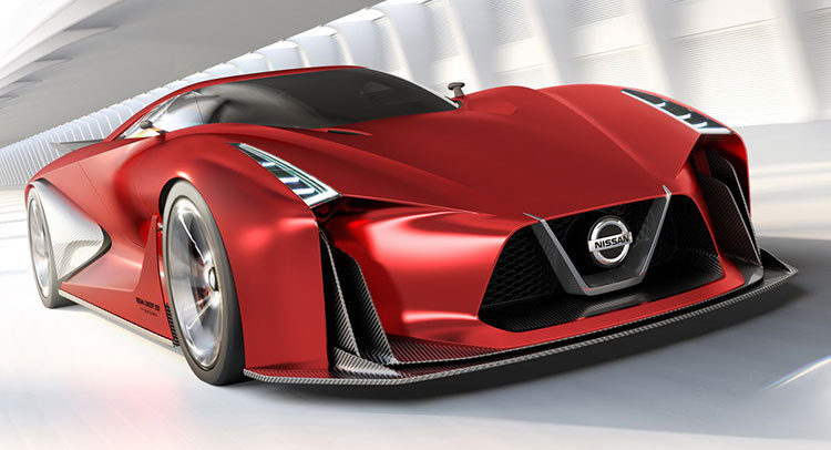 Nissan Vision GT-R Concept - Frontal 4