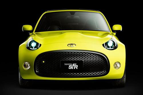 Toyota S-FR Concept Tokyo Motor Show - Frontal 2