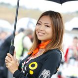 Paddock Girls del GP de Japón 2015 - pañuelo