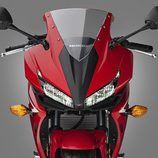 Honda CBR500R 2016 - detalle frontal