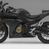 Honda CBR500R 2016 - negra lateral