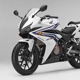 Honda CBR500R 2016 - blanca lateral