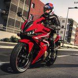 Honda CBR500R 2016 - front