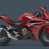 Honda CBR500R 2016 - roja lateral