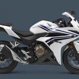 Honda CBR500R 2016 - blanca side