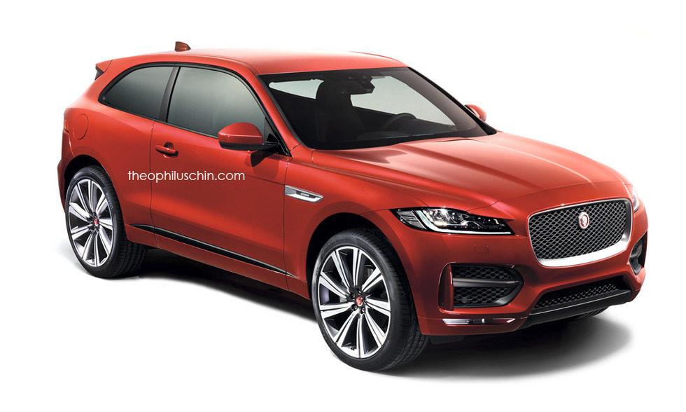 Montaje - Jaguar F-Pace Coupé: Frontal