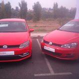 Feria automóvil de Toledo - Volkswagen Golf y Polo