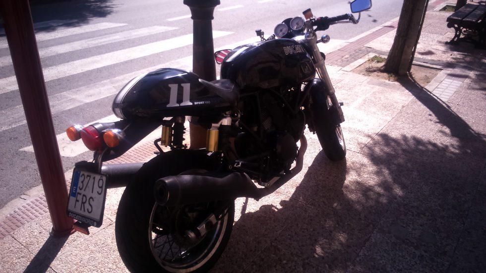 Ducati Sport 1000 Monoposto - rear