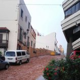 Temporal de lluvia en Gran Canaria - caida