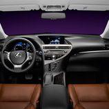 2012 - Lexus RX 450h: Tablero de abordo