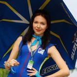 Paddock Girls del GP de Malasia 2015 - Suzuki Ecstar