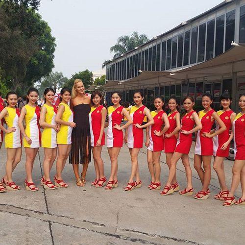 Paddock Girls del GP de Malasia 2015 - Shell girls