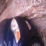 Ford Mondeo contra el muro - detalle