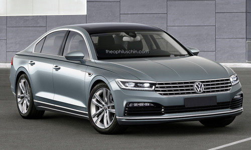 Render Volkswagen Phaeton