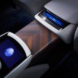 Lexus LF-FC Concept 2015 - detalle climatización