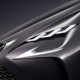 Lexus LF-FC Concept 2015 - detalle piloto delantero