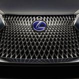 Lexus LF-FC Concept 2015 - detalle calandra