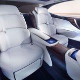 Lexus LF-FC Concept 2015 - interior parte trasera