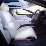 Lexus LF-FC Concept 2015 - interior parte delantera
