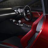 Mazda RX-Vision 2015 - interior cockpit