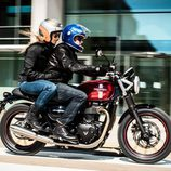 Triumph Street Twin 2016 - road