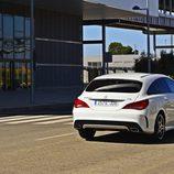 Prueba - Mercedes-Benz CLA Shooting Brake 220 CDI: Trasera en movimiento