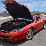Ferrari 550 Barchetta - engine