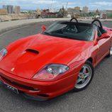 Ferrari 550 Barchetta - lateral