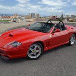 Ferrari 550 Barchetta - tres cuartos