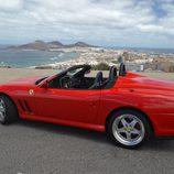 Ferrari 550 Barchetta - trasera