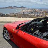 Ferrari 550 Barchetta - capó