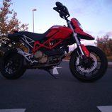Ducati Hypermotard 1100 2007 - detalle inferior