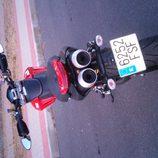 Ducati Hypermotard 1100 2007 - trasera