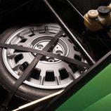 Lamborghini Countach LP400S Verde - rueda