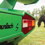 Lamborghini Countach LP400S Verde - emblemas