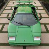 Lamborghini Countach LP400S Verde - frontal