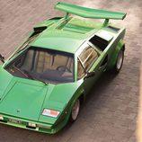 Lamborghini Countach LP400S Verde - aerea