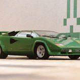 Lamborghini Countach LP400S Verde - delantera