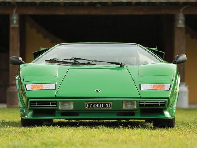 Lamborghini Countach LP400S Verde metalizzato